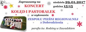 plakat - Zespół Pieśni Regionalnej 2017